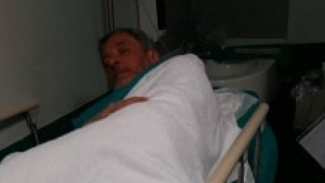 Luca Realdon ricoverato in ospedale