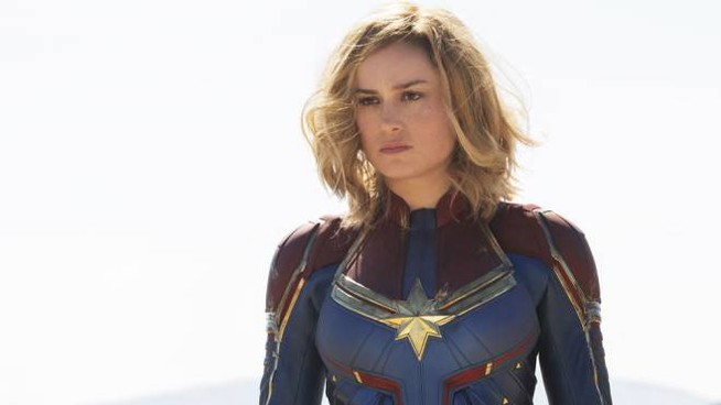 Una scena di 'Captain Marvel'