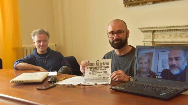 Claudio Monteleone, Francesco Belais, Catherine Dunne e Massimiliano Roveri