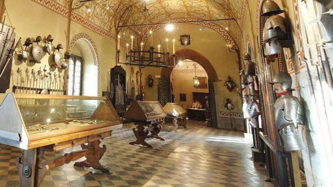 L'armeria del castello Bolognini