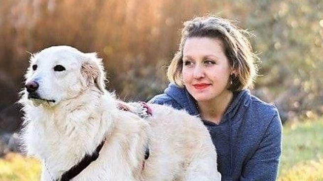 Martina Toninelli con i suoi dei suoi tanti cani