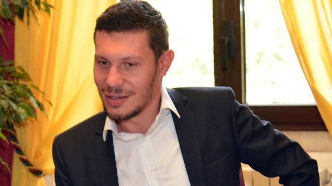 Il sindaco Davide Giacomini