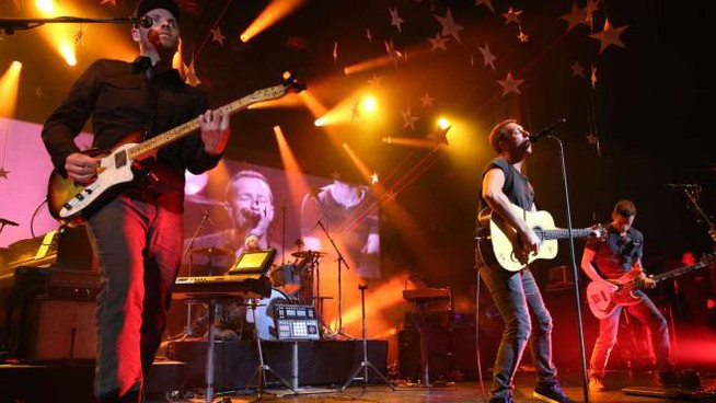 I Coldplay in concerto (Olycom)