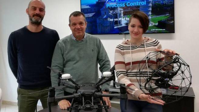 Parte del team: Giovanni Brambilla, Filippo Trivella e Claudia Scaramella