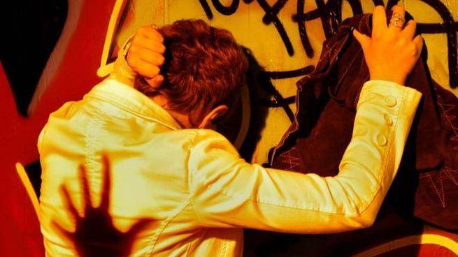 Violenza contro le donne in una foto d'archivio Bettolini