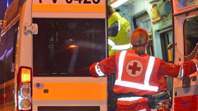 Nello scontro ci sono stati cinque feriti