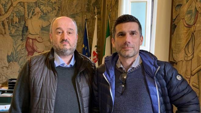 Il presidente Franceschelli con Ermini