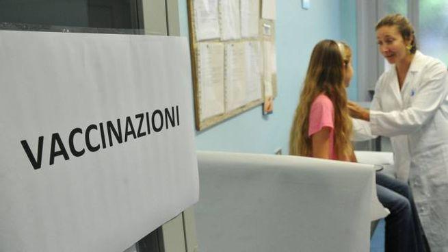 Vaccini scuola, bimbo sospeso in un asilo  (Foto di repertorio newpress)