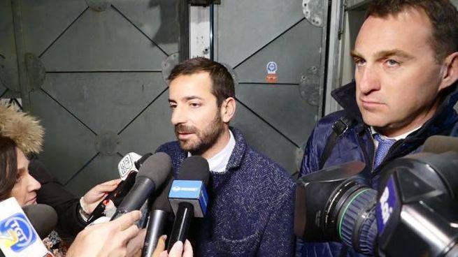 Gli avvocati della donna indagata, Mattia Alfano e Massimo Nistri (foto Attalmi)