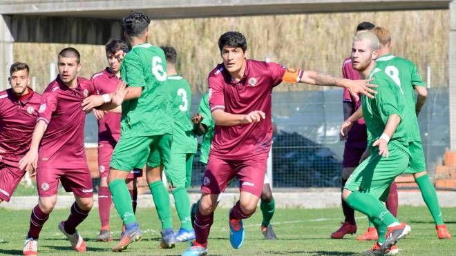 Un momento di Livorno-Atlantida Juniors (Novi)
