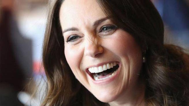 Kate Middleton durante l'evento SportsAid 2018