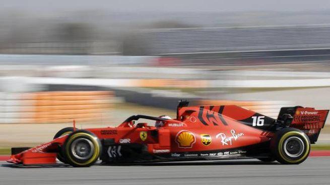 Formula 1, stagione 2019 al via. Nella foto la Ferrari di Leclerc (Ansa)