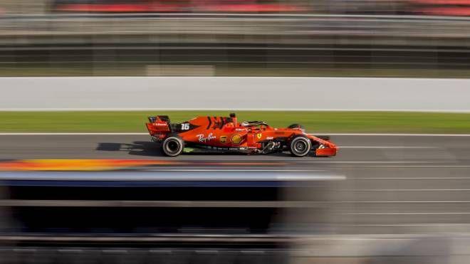 Ferrari, Charles Leclerc (Ansa)