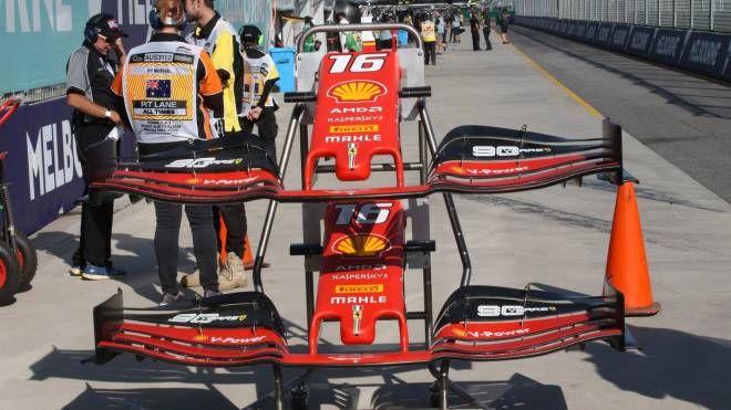 F1 Gp Australia 2019, la Ferrari a Melbourne (LaPresse)