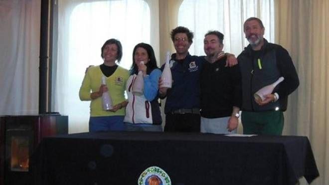 Da sinistra: Elisa Bruni, Mara Verdiani, Fabio Giuliani e, a destra, Gianluca Martelli