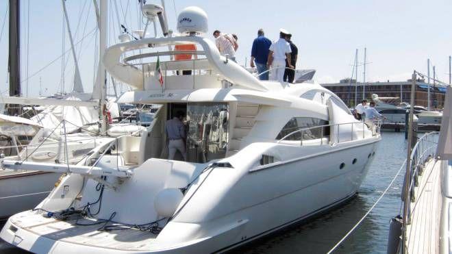 Caso Rimini Yacht, sigilli alle imbarcazioni (Foto PasqualeBove)