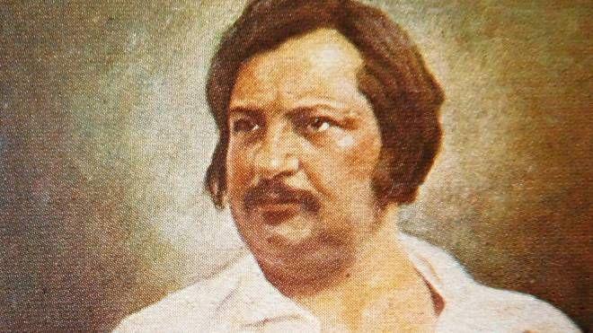 Ritratto di Honoré de Balzac da un dagherrotipo del 1842 (Foto: Wikipedia - Filo gèn)