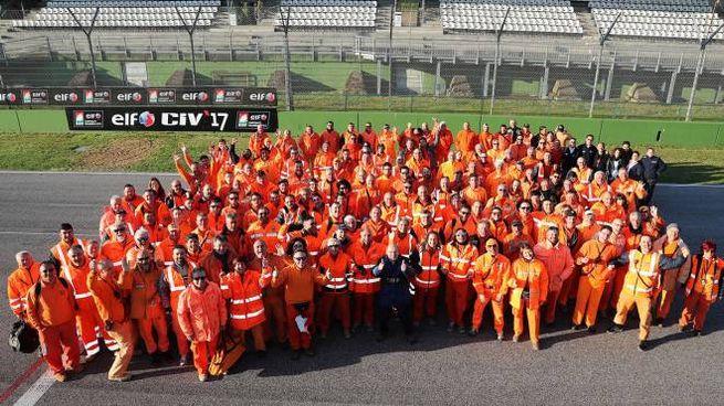 Foto di gruppo per il Marshal's team