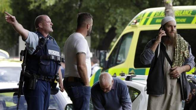 Strage in Nuova Zelanda (Ansa)