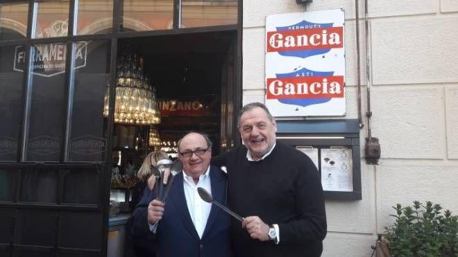 Rino Mini e Gianfranco Vissani