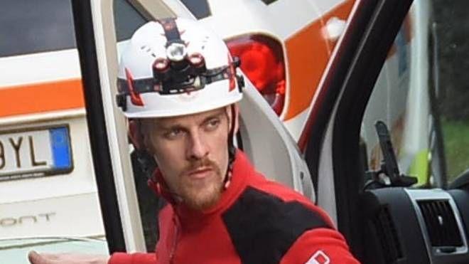 Sul posto è intervenuta un'ambulanza della Croce Rossa