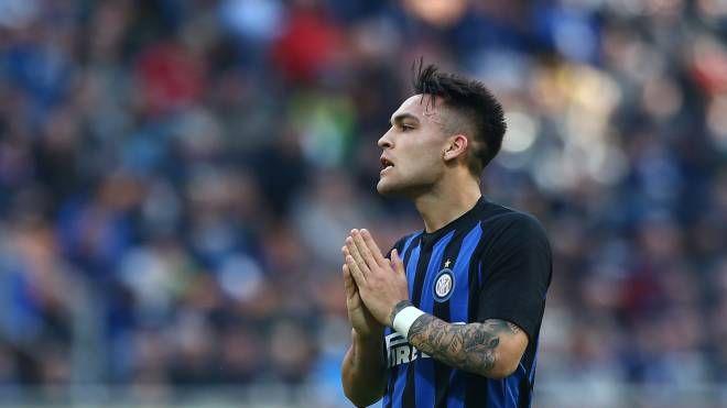 Inter, Lautaro torna dopo la squalifica in Europa League (Lapresse)
