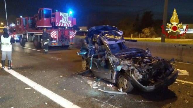 Incidente in A13 del 15 marzo 2019 all'altezza di Bologna