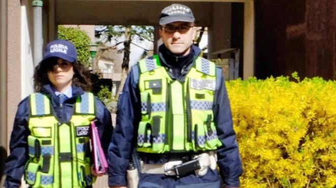 La polizia locale di Buccinasco