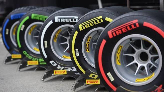 Le gomme Pirelli