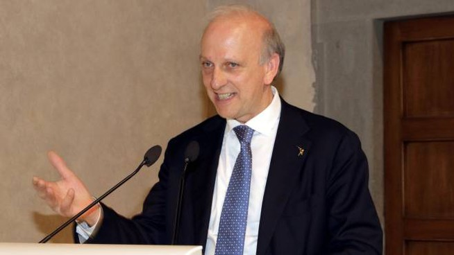 Il ministro Bussetti (New Press Photo)