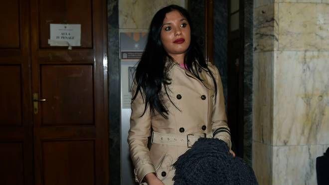 Imane Fadil in tribunale (ImagoE)