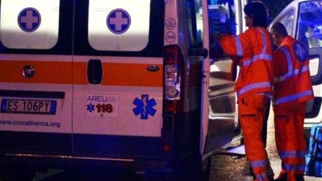 Ambulanza del 118 (foto di repertorio)