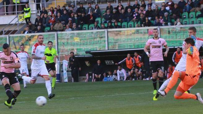 Falletti batte Piscitelli: 1-0 (foto Lapresse)