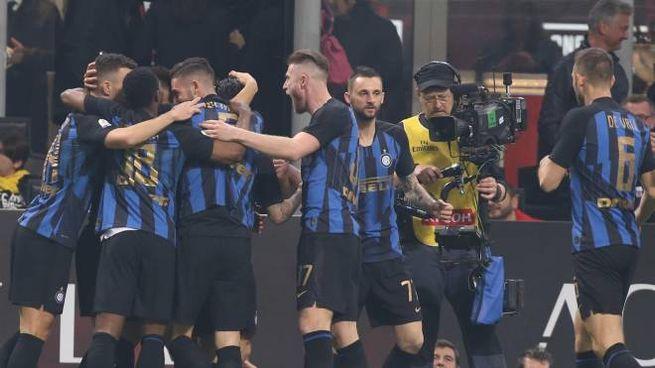 L'Inter vince il derby senza Icardi