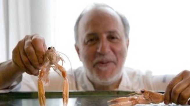 Luciano Zazzeri (foto dal sito del ristorante 'La Pineta')