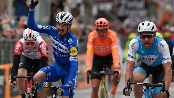 Tirreno-Adriatico 2019, bis di Alaphilippe (LaPresse)