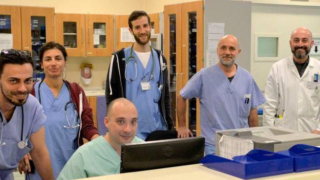 Sette medici e una ventina di infermieri  lavorano nel reparto delle emergenze del San Carlo di Paderno