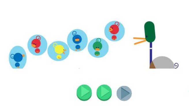 Il doodle animato di Google per la festa del papà