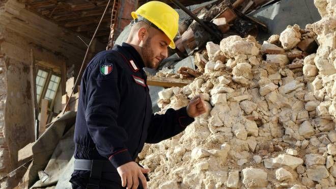 Carabinieri nelle zone del sisma