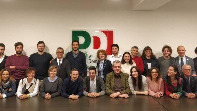 I candidati con Enzo Lattuca