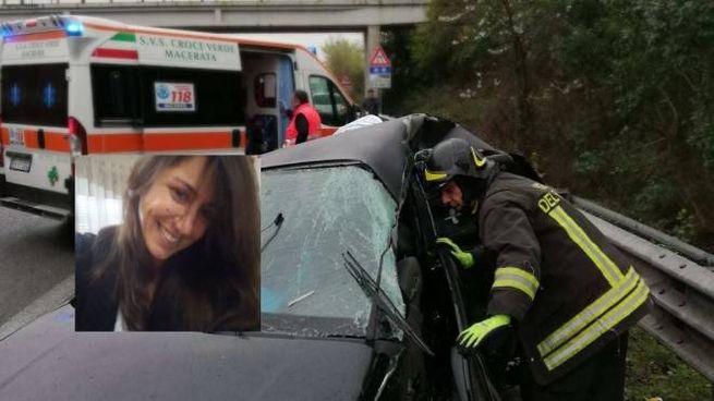 La vittima è Licia Grilli Cicilioni, 37 anni