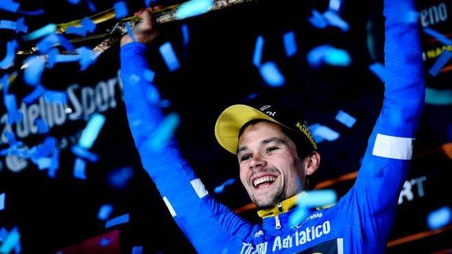 Primoz Roglic, vincitore della Tirreno-Adriatico 2019
