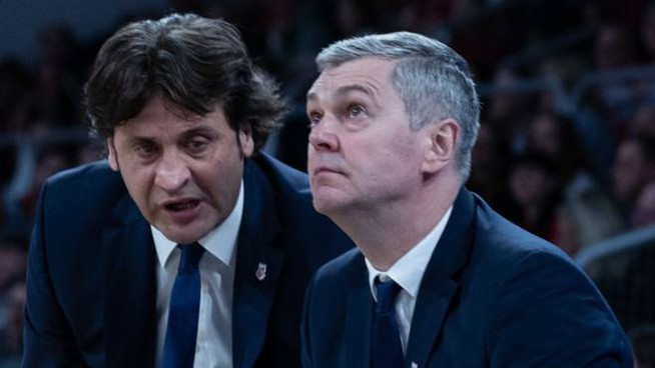 A sinistra, Marcelo Nicola
