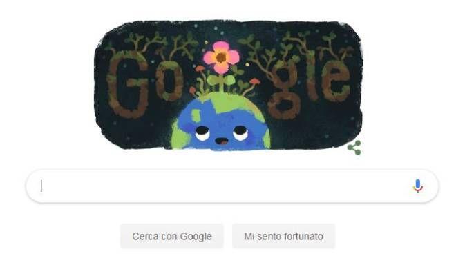 L'equinozio di Primavera 2019 nel doodle di Google