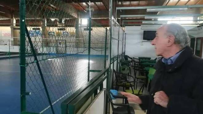 Ascoli: il presidente della bocciofila, Paolo Matricardi