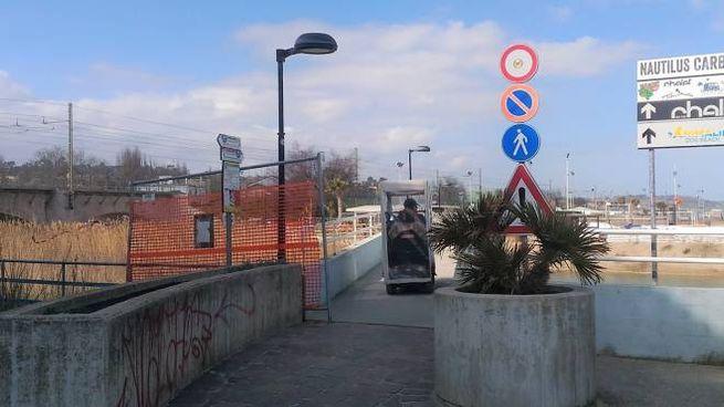 Fano, il ponte sull'Arzilla