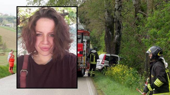 Gaia Roganti, 26 anni, originaria di Reggio Emilia, viveva a Porto San Giorgio (Zeppilli)