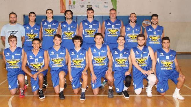 La squadra della Cesena 2005 che milita in Serie D