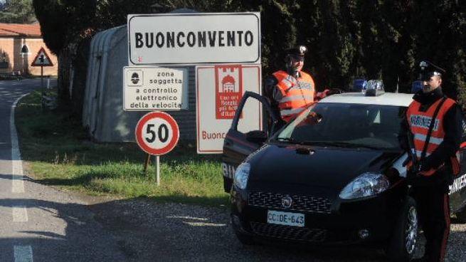 I carabinieri a Buonconvento