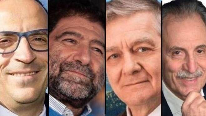 Elezioni Basilicata. Antonio Mattia, Carlo Trerotola, Valerio Tramutoli e Vito Bardi